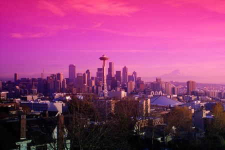 Seattle skyline Stock Photo - 5383079