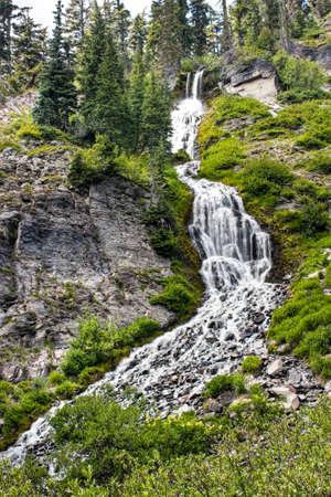 Vidae Falls in Crater Lake National Park Stockfoto