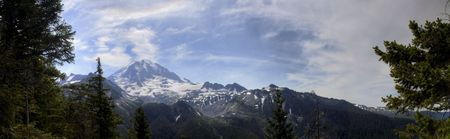 Mt. Rainier Stock Photo