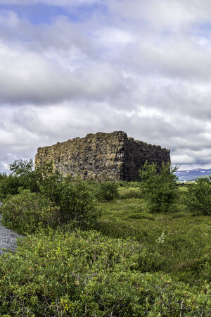 odin: Asbyrgi, a large canyon said to have been created when Odin