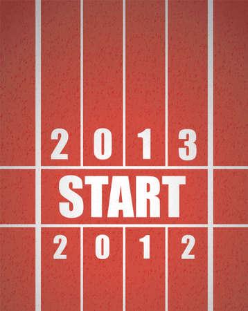 kezdetek: Kezdje címek sorban egy piros futópálya
