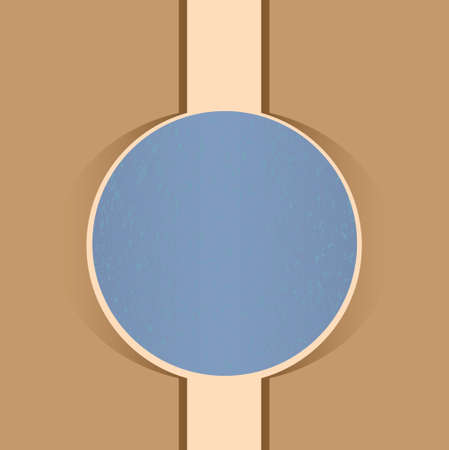 nulo: dise�o simple tarjeta de felicitaci�n con un c�rculo en el centro. Vectores