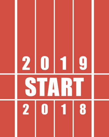 Starting track for the new year. 2018 for 2019 year