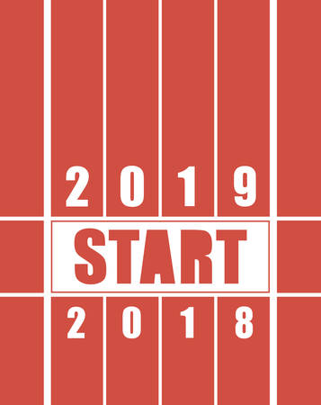Starting track for the new year. 2018 for 2019 year.