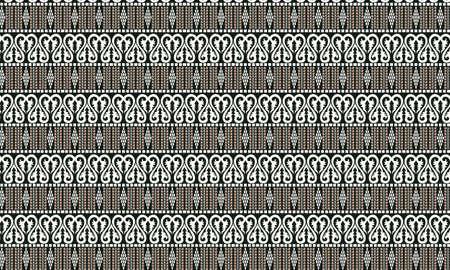 Batik Indonesia Pattern Illustration
