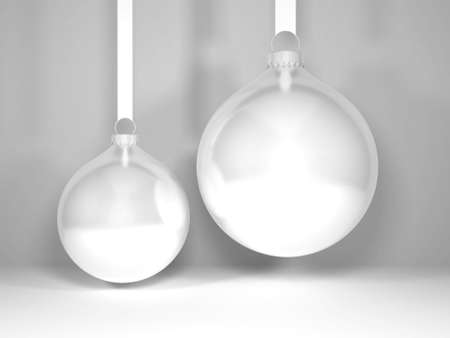 Christmas Bauble Ball Mockup Scene