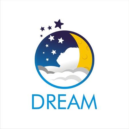 Dream Kid Logo Ilustração