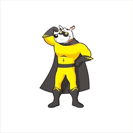 Super Dog Character 1