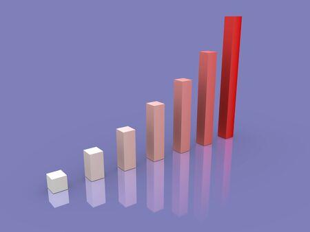 Week buisness graph photo