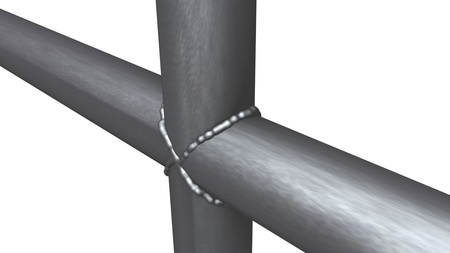 welded: Welded design, welded seams, pipes