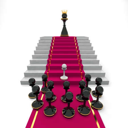 Pawn to queen success or captivity photo