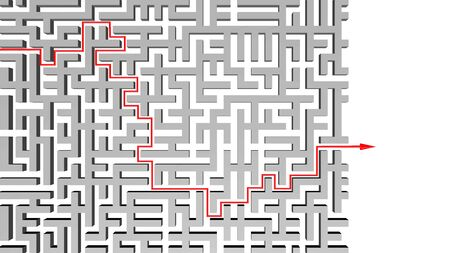 Abstract background of labyrinth Stock Photo - 14304306