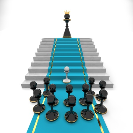 Pawn to queen success or captivity