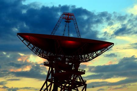 Radio Observatory Stock Photo