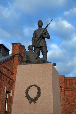 Soldier monument in Tallinn