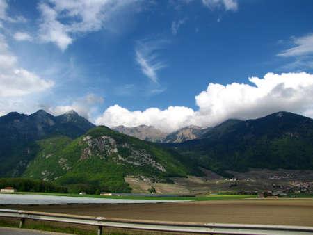 Austria landscape Stock Photo