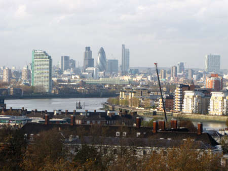 London landscape Stock Photo