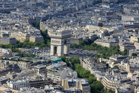 Paris viewed form the Eiffel Tower