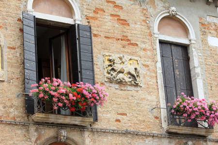 two windows in Venice