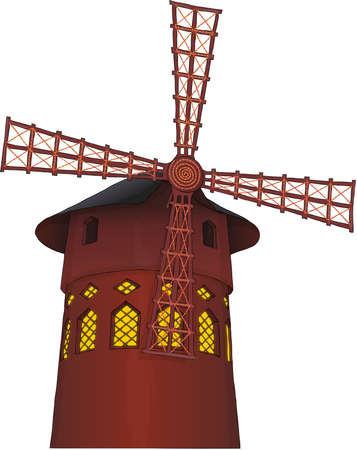 symbol of Paris - cabaret Moulin Rouge.
