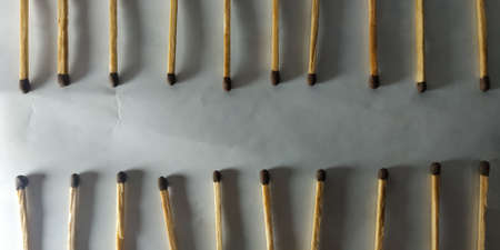 Playing with matches stick