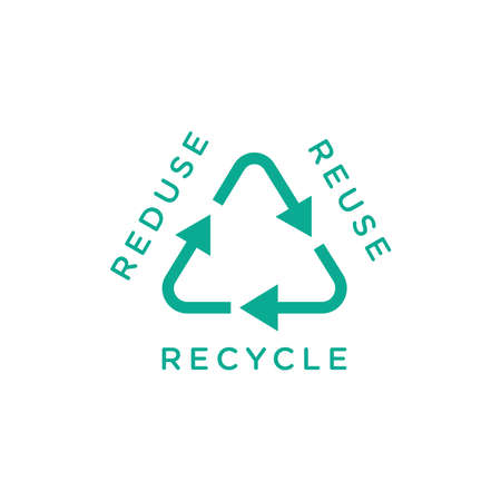 Design about zero waste lifestyle in vector illustration, eco friendly concept