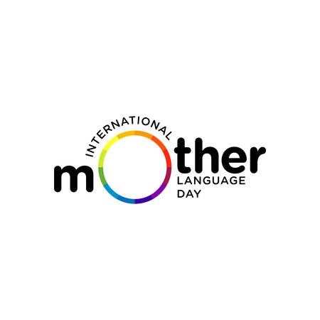 Design about International Mother Language Day. February 21