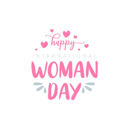 design about International Woman day , 8 march. vector illustration. Vector Illustration