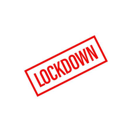 Lockdown text, infographics. Global pandemic health warning concept. novel coronavirus (2019-nCoV), covid-19, vector, logo, symbol & Background. Lockdown logo, Lockdown emergency during a hazard.