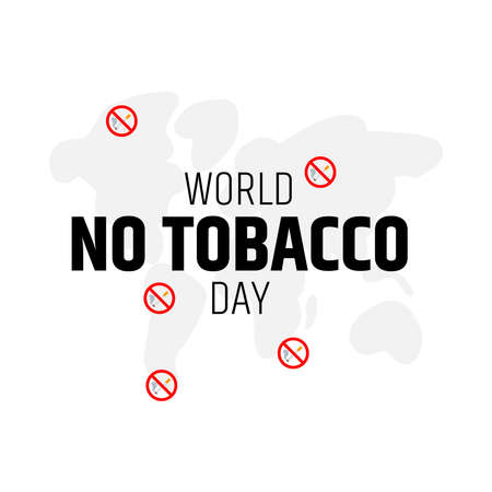 Design for World no tobacco day. save youth generation. Protecting youth from industry manipulation and preventing them from tobacco and nicotine use