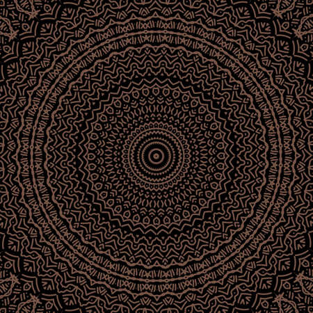 mandala colorful vintage art, ancient Indian vedic background design, old painting texture with multiple mathematical shapes. Illustration