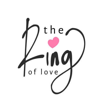 Hand lettering logo about wedding ring. Vector illustration