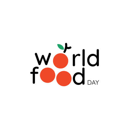 World Food Day illustration vector is suitable for social media, banner , poster , Flier and related with food . vector illustration