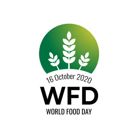 World Food Day illustration vector is suitable for social media, banner , poster , Flier and related with food. vector illustration 向量圖像