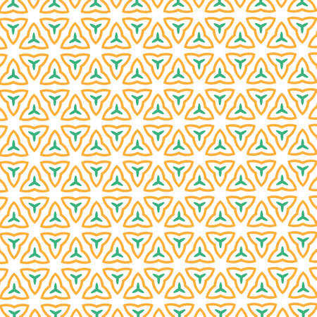 Seamless pattern made from any geometrical shape for creative design background. illustration Standard-Bild - 157167627