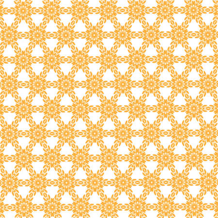 Seamless pattern made from any geometrical shape for creative design background. illustration Zdjęcie Seryjne