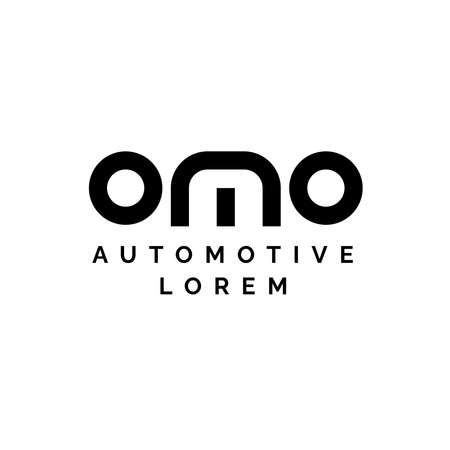 Logo design about automotive in vector