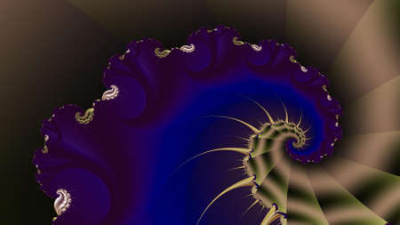 Paint Movement. Color Dream series. Composition of gradients and spectral hues for subject of imagination, creativity and art painting. 3d fractal render