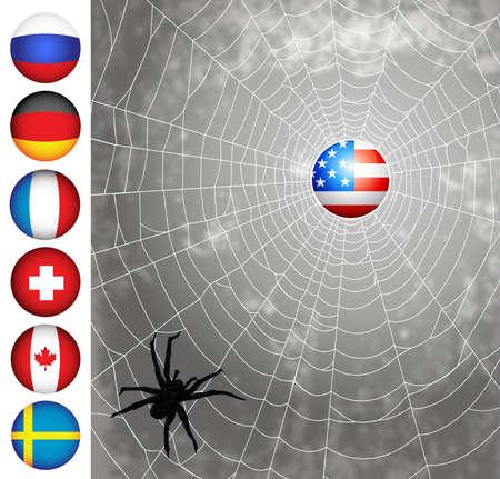 countries series 1 Stock Photo