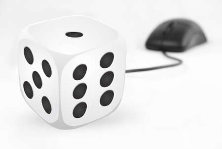dice and mouse