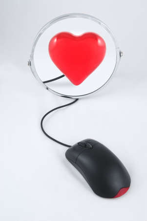heart of the mirror and mouse