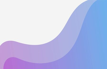Abstract Water wave vector illustration flat design background. Illustration