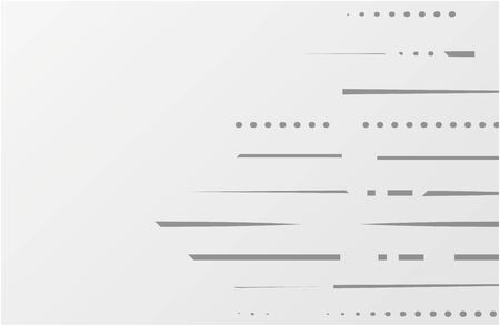 Abstract geometric white and gray color lines background.