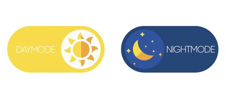 Day and Night mode switch. Sun and Moon. Light filter toggle button. Sleeping mode turn on, off. On Off Switch. Light and Dark Buttons.