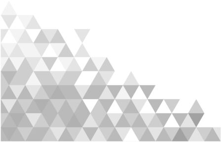Abstract geometric white and gray color background. Vector, illustration. Ilustração
