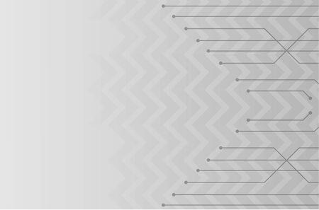 Futuristic White Architecture Design Background. Construction Concept. Vector Illustration