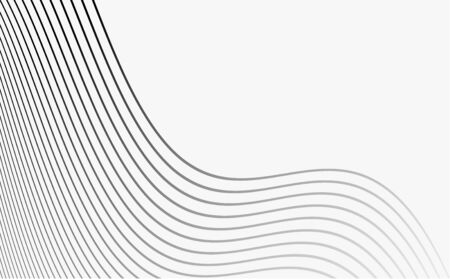 Abstract geometric vertical lines white and gray gradient color background.