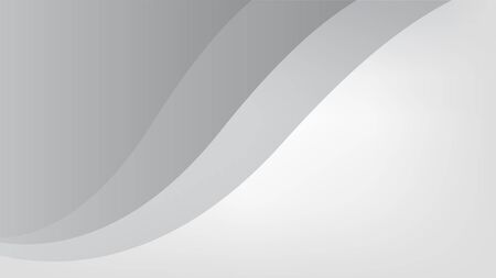 Abstract wavy gray color illustration. Dynamic motion web background