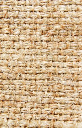 rough canvas brown textile background
