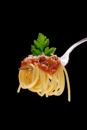 dieta: spaghetti with meat sauce